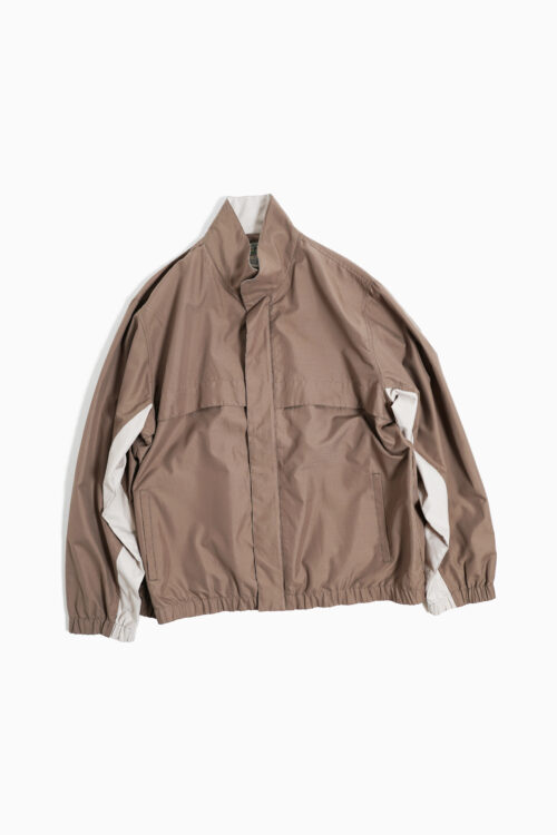 TWO TONE COLOR TRACK JACKET