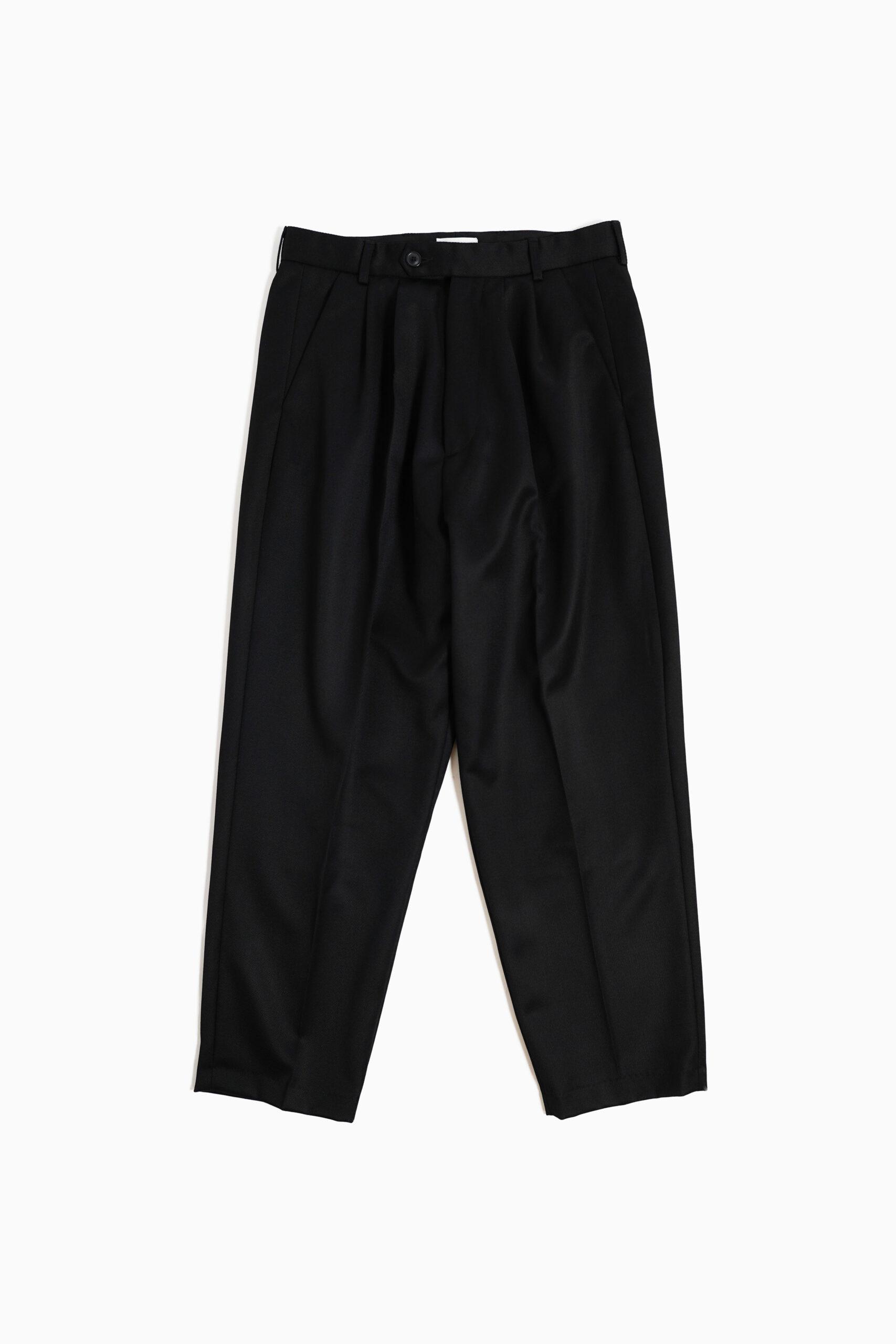 WIDE PANTS BLACK