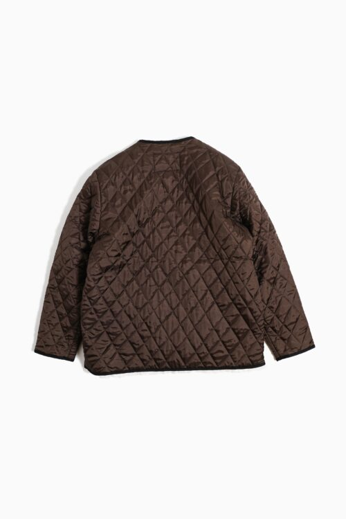 12.09.10 QUILTED LINNING JACKET WOVEN DOWN VISCOSE