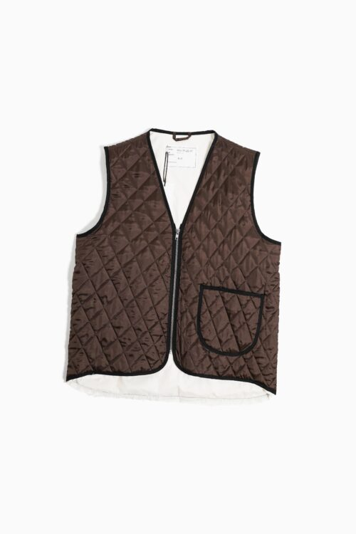 12.05.02 QUILTED WORKER VEST VISCOSE WOVEN DOWN