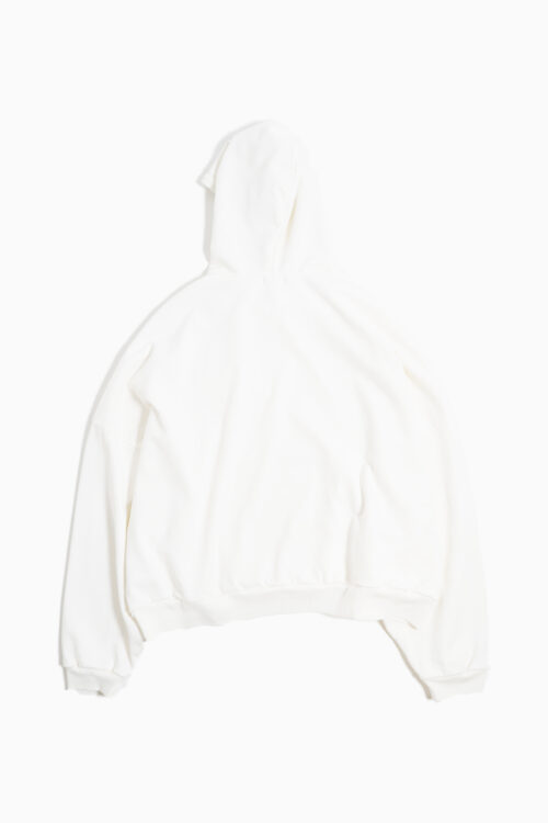 WAFFLE LINED BOMBER HOODIE
